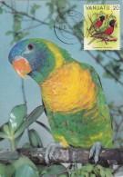 VANUATU Carte Maximum - Trichoglossus - Vanuatu (1980-...)