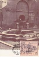 VATICAN Carte Maximum - Fontaine Del Forno - Maximum Cards