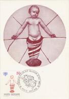 VATICAN Carte Maximum - Sculptures D'Enfants - Maximum Cards