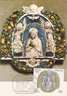 VATICAN Carte Maximum - Vierge Marie En Prière - Maximum Cards
