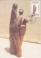 AFRIQUE SUD VENDA Carte Maximum - Distant Drums - Venda