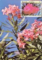 WALLIS & FUTUNA Carte Maximum - Fleurs De Laurier-Rose - Maximum Cards