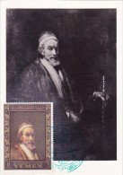 YEMEN Carte Maximum - Voyage De Jacob - Yémen