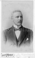 Photo-carte De Visite / CDV / Homme / Man / Louis Bruffaerd (1873-1930) Photo Edouard Morren / Louvain / Leuven - Ancianas (antes De 1900)