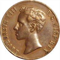 ESPAÑA. MEDALLA ALFONSO XIII. MAYORÍA EDAD. 1.902. 31 Mm. ESPAGNE. SPAIN - Royal/Of Nobility