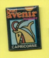 Rare Pins Signe Du Zodiaque Capricorne C675 - Pins