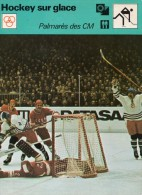 SPORT  **  HOCKEY-sur-GLACE  **  URSS/TCHECOSLOVAQUIE / COUPE DU MONDE - Hockey - NHL