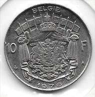 10 Francs Baudouin 1976  FL   Qualité+++++++++++++++ - 06. 10 Francs