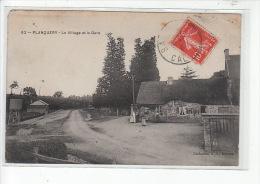 PLANQUERY - Le Village Et La Gare - Très Bon état - France