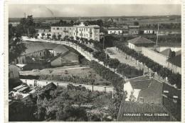 17614 ITALY PARABIAGO MILAN VIEW STATION TRAIN CIRCULATED TO ARGENTINA POSTAL POSTCARD - Italia