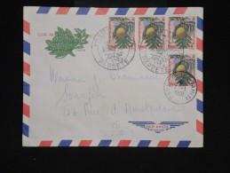 POLYNESIE - Enveloppe De Papeete Pour Paris En 1959 - Aff Plaisant - Obl. 1er Jour - à Voir - Lot P9559 - Covers & Documents