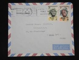 POLYNESIE - Enveloppe De Papeete Pour Paris En 1959 - Aff Plaisant - à Voir - Lot P9560 - Covers & Documents