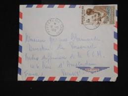 POLYNESIE - Enveloppe De Papeete Pour Paris En 1958 - Aff Plaisant - à Voir - Lot P9561 - Covers & Documents