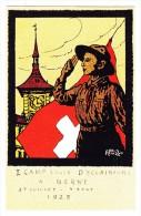AK Motiv Pfadfinder - 1. Camp Suisse D'éclaireurs à Berne 27.7 Au 4.8.1925 Offizielle Postkarte Ungebraucht - Scoutisme