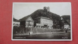 SAINT GOARSHAUSEN   BURG KATZ --> Germany  RPPC Cafe Muller-------ref 1964 - Unclassified