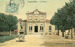 FRANCONVILLE(VAL D OISE) CARTE EN COULEUR TOILEE - Franconville