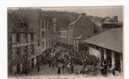 128 Quimper ( Finistère ) - Rue Saint François , Très Animée , Marché ? - 29 - - Quimper