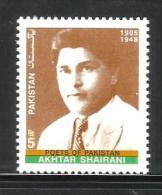 PAKISTAN, 2005,  Akhtar Shairani, Poet, MNH, (**)