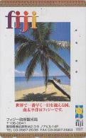 Télécarte Japon - Paysage Océanie - ILES FIDJI - FIJI ISLANDS - VISITORS BUREAU - Japan Phonecard Telefonkarte - 36 - Fidji