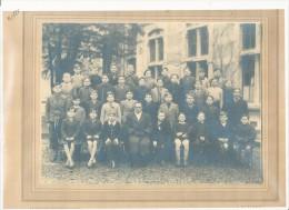 Photo De Classe Sur Support (format 320x250mm) Photo De J. Rativet Paris XVème - Unclassified