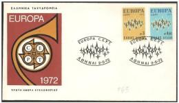 Grecia/Greece/Grèce: FDC - - Europa-CEPT