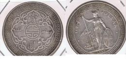 MALASIA MALAYA DOLLAR 1898 PLATA SILVER Y PRECIOSA - Malasia