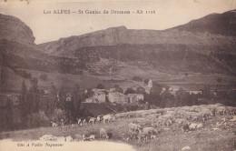 Dpt 04 St GENIES De DROMON. Les Alpes - France