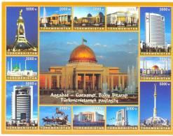 2006. Turkmenistan, Architecture Of Turkmenistan, Sheetlet, Mint/** - Turkménistan