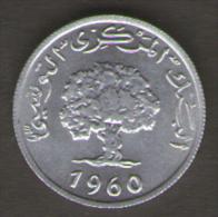 TUNISIA MILLIM 1960 - Tunisia