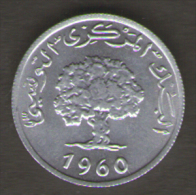 TUNISIA MILLIM 1960 - Túnez