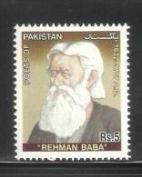 PAKISTAN, 2005,  Abdul Rehman Baba, Poet,  MNH, (**) - Pakistan