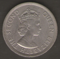 MAURITIUS ONE RUPEE 1971 - Mauritius