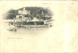CPA 83 TOULON EMBARCADERE DE MANTEAU  PRECURSEUR 1890 - Toulon