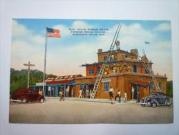 ZUNI  INDIAN  PUEBLO  HOUSE , Parsons Indian Village,  Wisconsin DELLS , WIS.  -  Carte Couleur    - Etats-Unis