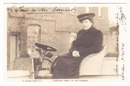 Princess Henry Of Battenberg Ges. 9.4.1904 Nach Genf - Eckbug - Familles Royales
