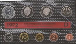 GERMANIA BUNDESREPUBLIK DEURSCHLAND 1972 D PROOF SET - [ 7] 1949-… : RFA - Rep. Fed. Tedesca