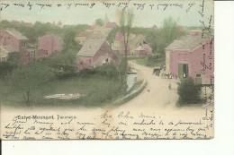 """Saive - Mousset""""Panorama"""" & Saive - Lot De 2 Cartes Postales -""""Vieux Château De Saive"""" - Circulé: 1904 - Blegny"""