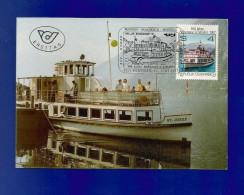 Österreich  1987 , 10  Jahre Achensee - Schifffahrt - (31) Maximum Karte - 26.juni 1987 - - Schiffahrt