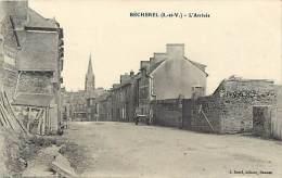 - Ref - J 440 - Ille Et Vilaine - Becherel - L Arivee -  Carte Bon Etat - - Bécherel