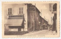 Isère - 38 - Saint Jean De Bournay Pub Journal Le Progrès Et Grand Hotel Du Nord Troccaz En 1932 - Saint-Jean-de-Bournay