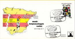 Molenenveloppe - WK Spanje 1982 - Copa Mundial De Futbol '82 - Argentinië-België/Argentina-Belgica - 13 Juni 1982 - 1982 – Espagne