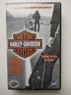 Cassette Vidéo VHS - HARLEY DAVIDSON - - Documentaires