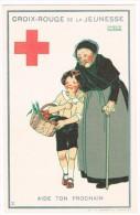 CROIX-ROUGE DE BELGIQUE - Croix-rouge De La Jeunesse, Aide Ton Prochain (n°2), Maggie Salzedo - Etat Neuf!-  2 Scans - Croix-Rouge