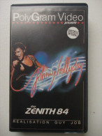 Cassette Vidéo VHS - JOHNNY HALLYDAY - Zenith 84 - - Concert Et Musique