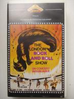 Cassette Vidéo VHS - THE LONDON ROCK AND ROLL SHOW - - Concert & Music
