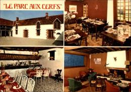 45 - PONT-AUX-MOINES - Carte Pub Restaurant - France