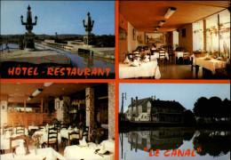 45 - BRIARE - Carte Pub Restaurant - Briare