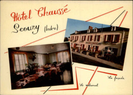 36 - SCOURY - Carte Pub Hotel - France