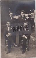 CARTE PHOTO,ARROMANCHES,EN 1942,14,CALVADOS,FETE,SPECTACLE AU PROFIT DES PRISONNIERS,COMEDIEN - Arromanches