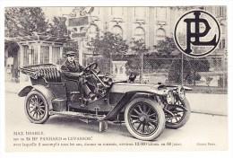 AK Motiv Auto - Panhard Et Levassor 24 HP - Max Dearly - - PKW